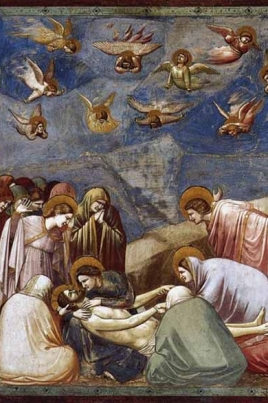 Жизнь Христа в живописи Джотто постер