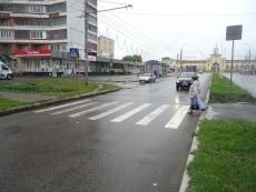 В последний июльский день опасность подстерегала пешеходов на «зебрах»