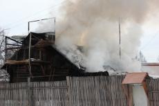 В Советском районе пожарные не успели к месту возгорания — сгорело частное хозяйство
