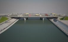 Строительство мостового перехода через реку Малая Кокшага вышло на финишную прямую
