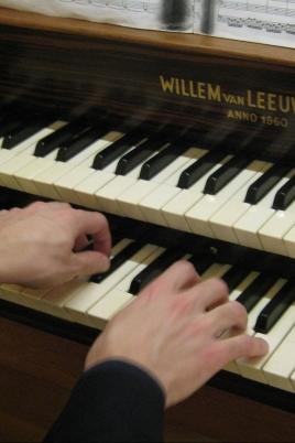 Органный концерт постер